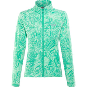 Jack Wolfskin Kiruna Jungle Veste Femme, deep mint all over